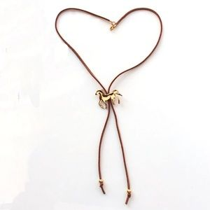 Jewelry - Boho Horse Lasso Statement Necklace